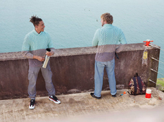 Дизайнер и фотограф показали свитера для маскировки 80 lvl