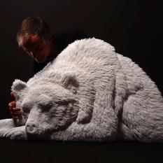 Канадский скульптор создает животных из бумаги (ФОТО)