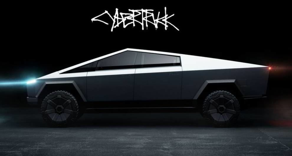 Первый пикап Tesla Cybertruck будет диамичнее Porsche 911 — Илон Маск (ФОТО)