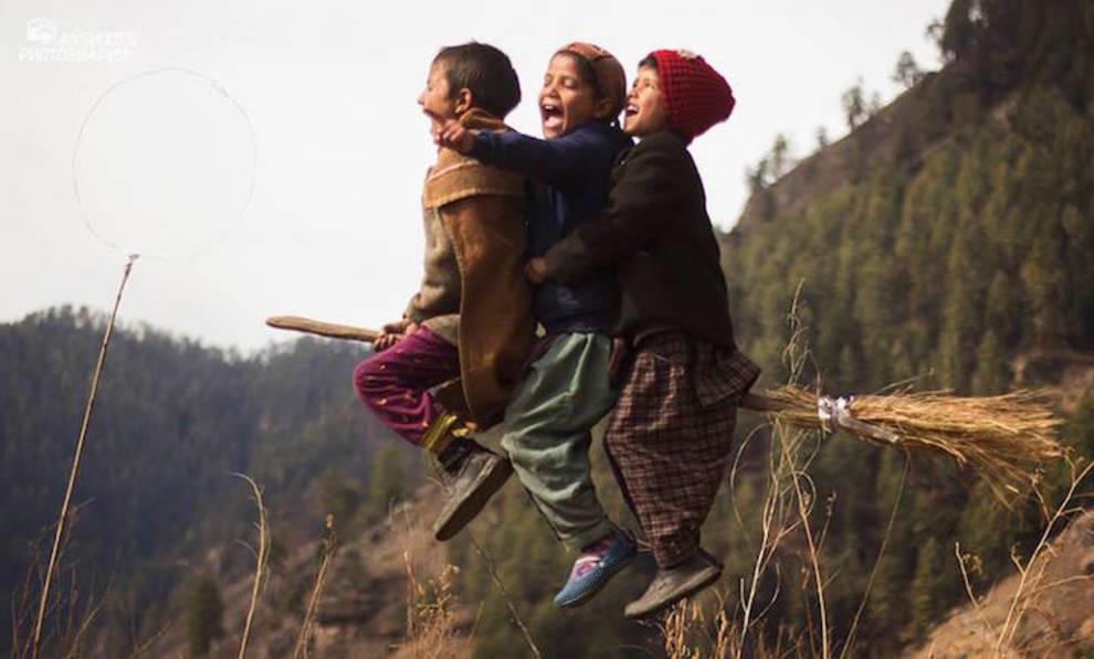 Гималайский учитель организовал для своих учеников матч по квидичу (ФОТО)