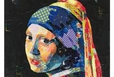 Японка создает репродукции великих картин из маскирующей ленты (ФОТО)