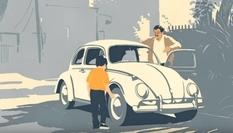 Volkswagen при помощи анимированной рекламы попрощался со своим знаменитым «жуком» (ВИДЕО)