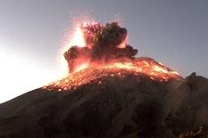 В Мексике проснулся самый активный вулкан (Видео)