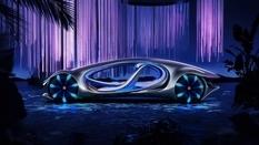 Mercedes-Benz показал новый автомобиль с «чешуей» на крыше (Фото)