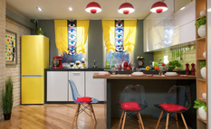Дизайнеры интерьеров разъяснили, что такое кухня в стиле поп-арт