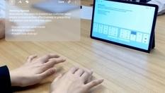 Samsung показал виртуальную клавиатуру для смартфонов и планшетов (Видео)