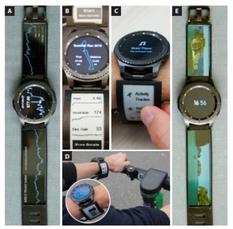 Умные часы оснастили ремешком с двумя экранами (Видео)