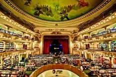 В столице Аргентины работает самый красивый книжный магазин в мире (Фото)