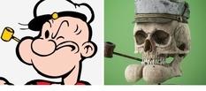 Дизайнер из Праги воссоздает черепа персонажей из мультфильмов (Фото)