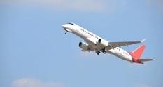 Mitsubishi протестировала реактивный самолет SpaceJet MR90