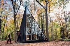 Архитекторы создали комфортный дом для жизни в лесу