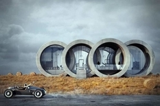 Польский архитектор проектирует дома в форме известных логотипов (Фото)