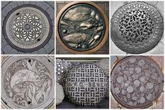 «Дорожное» хобби: российский блогер коллекционирует фото канализационных люков из разных стран мира (Фото)