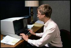 Молодой и увлеченный — Билл Гейтс на редких снимках 1984 года (Фото)