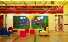 Яркие цвет и причудливая геометрия — детский центр Chesapeake (Фото)