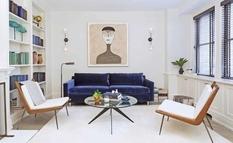 Минималистичный стиль и тщательно подобранные акценты — небольшая квартира на Манхэттене
