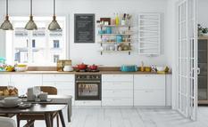 Кухня без шкафов: дизайнеры рассказали о трех действенных способах их замены