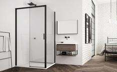Черные душевые кабины: дизайнеры рассказали о преимуществах такого способа обустройства ванной