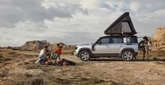 Культовый внедорожник Land Rover Defender оснастили палаткой