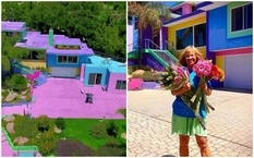 Буйство красок и неожиданные дизайнерские решение — дом 70-летней художницы из США (Фото)