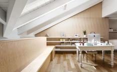 Архитекторы из Archiplan studio трансформировали чердак в красивую квартиру (Фото)