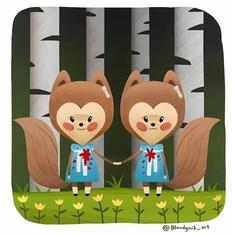 Животный страх: иллюстратор перерисовывает персонажей из фильмов ужасов в милых зверюшек (Фото)