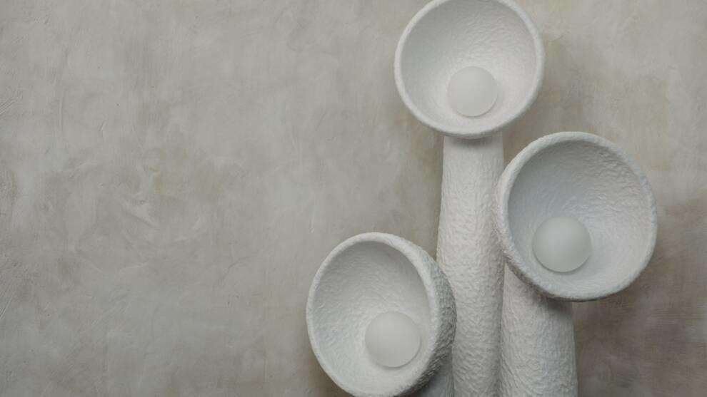 Вырастают из-под земли: украинский дизайнер представила коллекцию светильников-подсолнухов