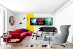 Unique style of the Lisbon apartments
