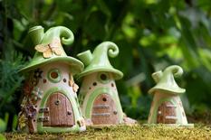 Houses-candlesticks by Antje Rosemann