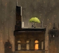 Happiness in the illustrations of Pascal Campion