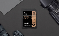 Lexar started selling memory cards up to 1 TB
