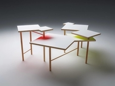 Utsuri: a table that cannot be bought but can be assembled