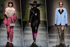 Clothes of the future: autumn-winter collection by Frankie Morello