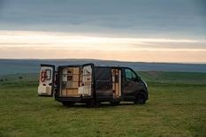 Nissan NV300 became a van with a workshop