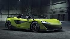 McLaren have issued a public 600LT Spider