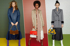 Replenish the fall wardrobe with Fendi