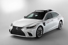 On the basis of Lexus LS assembled a prototype drone
