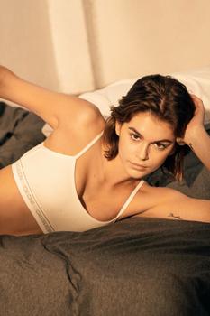 Кайя Гербер стала лицом новой рекламной кампании Calvin Klein