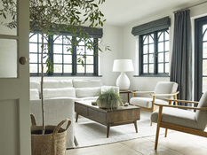 English cosiness: the interior is inspired by nature