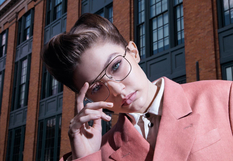 The heart of New York: a third collection of glasses from Gigi Hadid