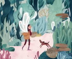 Fabulous illustrations by Vivian Mineker