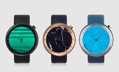 Marble dial watch from Xiaomi and Ultraworks
