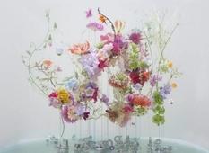 Flowers under water by Anne ten Donkelaar