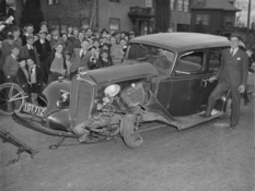 Photos of the accident 30-ies of the last century