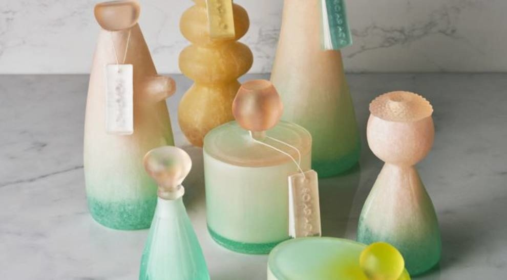 Вместо пластика: флаконы из мыла от Mi Zhou