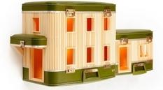 Архитектурные модели: домики из мебели
