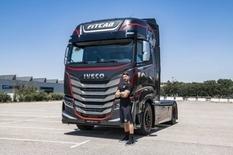 Iveco создала грузовой автомобиль с тренажерами