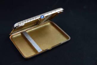 Золотой дореволюционный портсигар