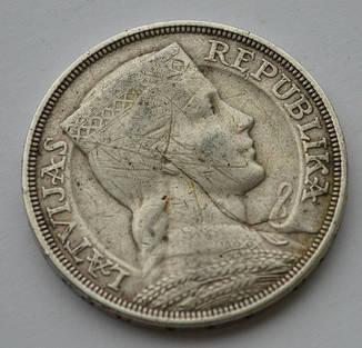 Цена 5 лит 1931 года монеты фарерских островов