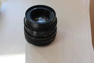 Helios 44m 2/58 + переходник одуванчик Canon EOS